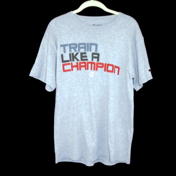 Champion Other - Train like a Champion Shirt Sports Athletic Medium